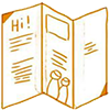 Catalogue design Icon