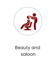 beauty and saloon