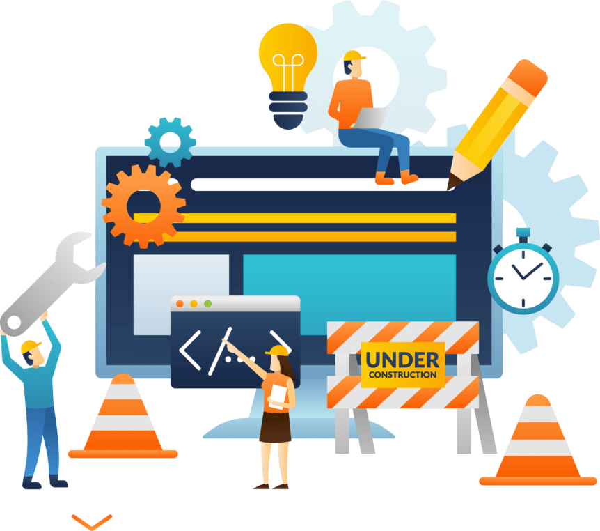maintenance of website